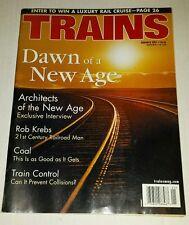 Trains Magazine January 2001