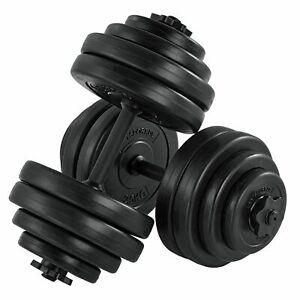 Hantelset 30kg Hantel Kurzhanteln Set Hantelscheiben Krafttraining Artsport®