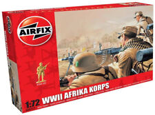 Airfix 48 WWII German Afrika Korps 1:72 Scale Plastic Model Figures A00711