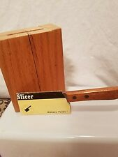 Hickory Farms of Ohio Sausage Cheese Meat Cleaver Slicer Cutter 3 inch Blade