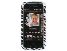 Reinforced Plastic Phone Design Case Zebra Skin For Verison HTC Touch Pro 2