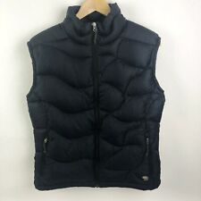 Mountain Hardwear Womens Medium Black Down Puffer Vest Winter Outdoor