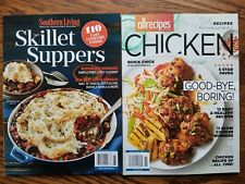 Southern Living Collector'S Edition ~ Skillet Suppers & Allrecipe ~ Chicken