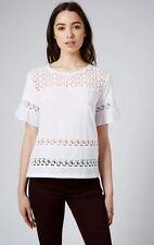 Topshop Hip Length Regular Casual Tops & Shirts for Women