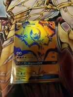 Lunala GX SM103a Gold Pokemon Hidden Fates Premium Power Promo Card