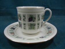 Royal Doulton Tapestry TC1024 Cup and Saucer Set(s)