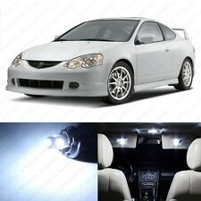 6 x Xenon White LED Interior Lights Package For 2002 - 2006 Acura RSX US Seller