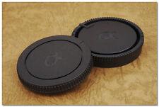 Lens Cap Set Sony Minolta Alpha Mount SLR Body + Rear Cap A99 A77 A700 A58 A33