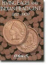HARRIS Flying Eagle and Indian Head Cent 1857-1909 Folder Album #2671