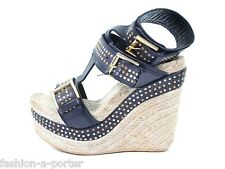 Alexander mcqueen s / s 2012 Nairobi cloutées compensées chaussures UK 3 US 6 EU 36 Bnwt