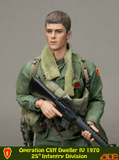 "ACE 1:6 scale 12"" Vietnam Operation Cliff Dweller IV 25th INFANTRY Soldier"