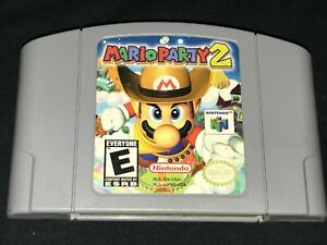 Mario Party 2 (Nintendo 64, 2000) Cleaned / Tested / Authentic - N64 -