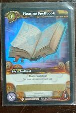 World of Warcraft TCG: Floating Spellbook Loot Card *Unscratched*