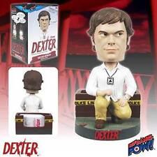 Dexter Morgan Bobble Head Sound Keychain Blood Card Holder Bobblehead Talking NR