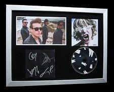 PAPA ROACH+SIGNED+FRAMED+CROOKED TEETH+INFEST=100% AUTHENTIC+EXPRESS+GLOBAL SHIP