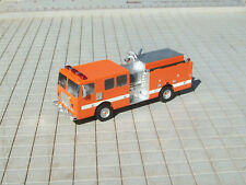 HO Scale Fire Truck, Pumper, Long Door Cab