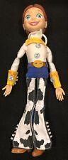 "Toy Story Jessie Doll 14"" Doll Pull String Talking Disney Works Woody"