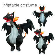 Party Performance Charizard Dinosaur Inflatable Costume for Adult Outfit Cosplay