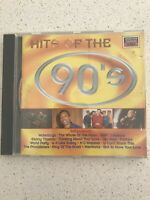HITS OF THE 90'S - CD - LIKE NEW