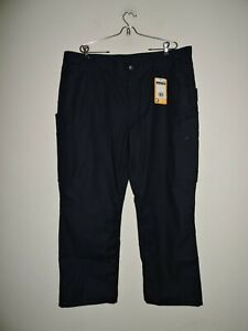 Carhartt 40 x 30 RUGGED FLEX STRAIGHT FIT FRONT PANTS Navy NWT  103904