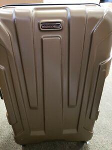 "Samsonite Centric Expandable Hardside Luggage 24"" Spinner Wheels Medium Bronze"