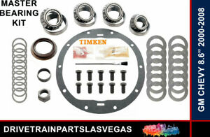 Timken Master Bearing Rebuild Overhaul Kit 8.6 8.5 10 Bolt 2000 to 2008 Chevy GM