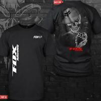 Fox Racing Skull Logo Motor For Men Women T-shirt Unisex S-6XL
