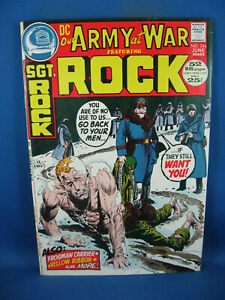 OUR ARMY AT WAR SGT ROCK 246 F VF 1972