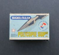 Boite plume BAIGNOL & FARJON Polycopie 3600 pen nibs box pennini