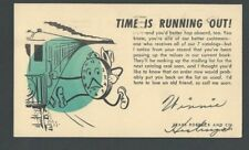 1953 Hasting Neb Sears Roebuck Time Is Running Out Buy Or No More Catalogs