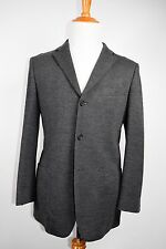 DUNHILL Charcoal Sportcoat Wool CASHMERE Patch Pockets  Size 40R Boglioli LBM