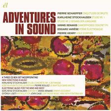 Karlheinz Stockhausen : Adventures in Sound CD Box Set 3 discs (2018) ***NEW***
