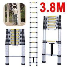 Single Telescopic Ladder Extendable Folding Steps Ladder Extension Ladder UK