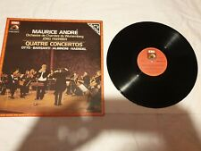 Maurice André quatre concertos emi orchestre de chambre du wurtenberg