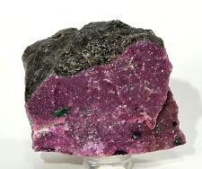 90g 49mm Pink Cobaltoan Calcite Cobaltocalcite w/ Malachite Crystal Rough Congo