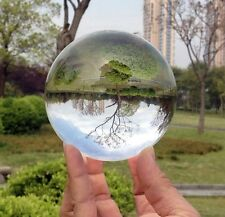 60mm Diameter Asian Rare Quartz Clear Magic Crystal Healing Ball Sphere+Stand