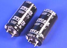 Tecate 5F 2.7V Supercapacitors 90mOhm ESR 5 Five P//N: TPL-5.0//10X20F