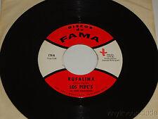 LOS PEPE'S DE PEPE RODRIGUEZ Rufalina / Las Moritas 45 Discos De Fama 174 Latin