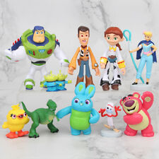 Toy Story Dinosaur Woody Buzz Lightyear Alien Kid Gift Action Figure Toys 10 PCS