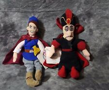 Disney Beanie Prince From Snow White And Jafar From Aladdin