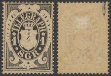 Germany Bavaria 1870 - Telegraph Mi # 2 - MH Stamp EB53