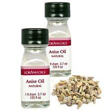 LorAnn Anise Oil Super StrengthNatural Flavor [2pk] 1 dram bottles