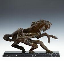 La Force - Art Deco Skulptur von Alberto Bazzoni (1889-1973) Italien um 1925/30