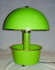 Vtg Mid Century MOD Lime Green Magic Plantern Plastic Mushroom Lamp Planter Base