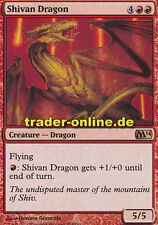 Shivan Dragon (Shivan-Drache) Magic 2014 M14 Magic