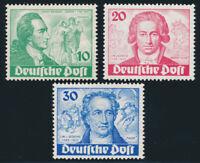 BERLIN 1949, MiNr. 61-63, postfrisch, II. Wahl, gepr. Schlegel, Mi. 320,-