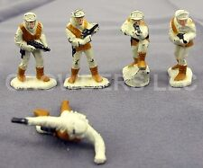 "Star Wars Micro Collection 5 1.25"" Die Cast Figurine Hoth Gear Rebel Troopers 82"