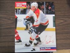 Terry Carkner Unsigned 8x10 Stadium Giveaway 1995-96 Florida Panthers #19 of #40