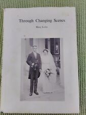 THROUGH CHANGING TIMES - MARY LESLIE - FIRST LADY SANITARY INSPECTOR IN STOCTON