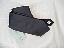 Gieves and Hawkes Brand new black woven tie RRP £95